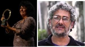 Berta Caceres y Gustavo Castro