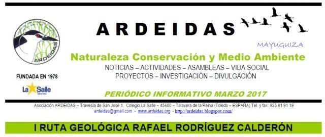 Crónica de la I Ruta Geológica Rafael Rodríguez Calderón
